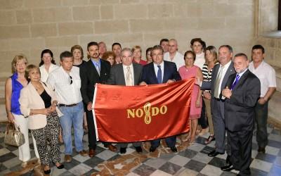 Entrega de la bandera «El alcalde de Sevilla»