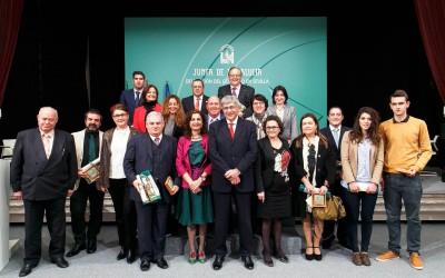 Entrega del premio «Banderas de Andalucía»