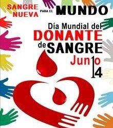 14 DE JUNIO DIA MUNDIAL DEL DONANTE DE SANGRE