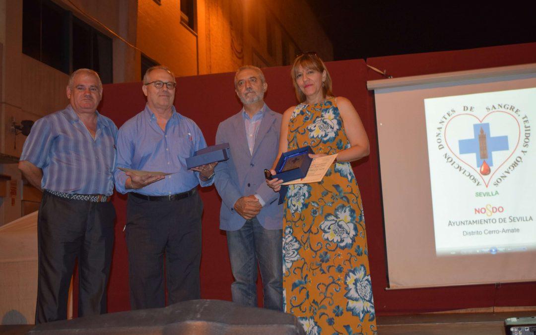 Entrega de Galardones a Grandes Donantes del Distrito Cerro-Amate