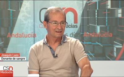 Nuestro colaborador Joaquín Lazo entrevistado en Canal Sur