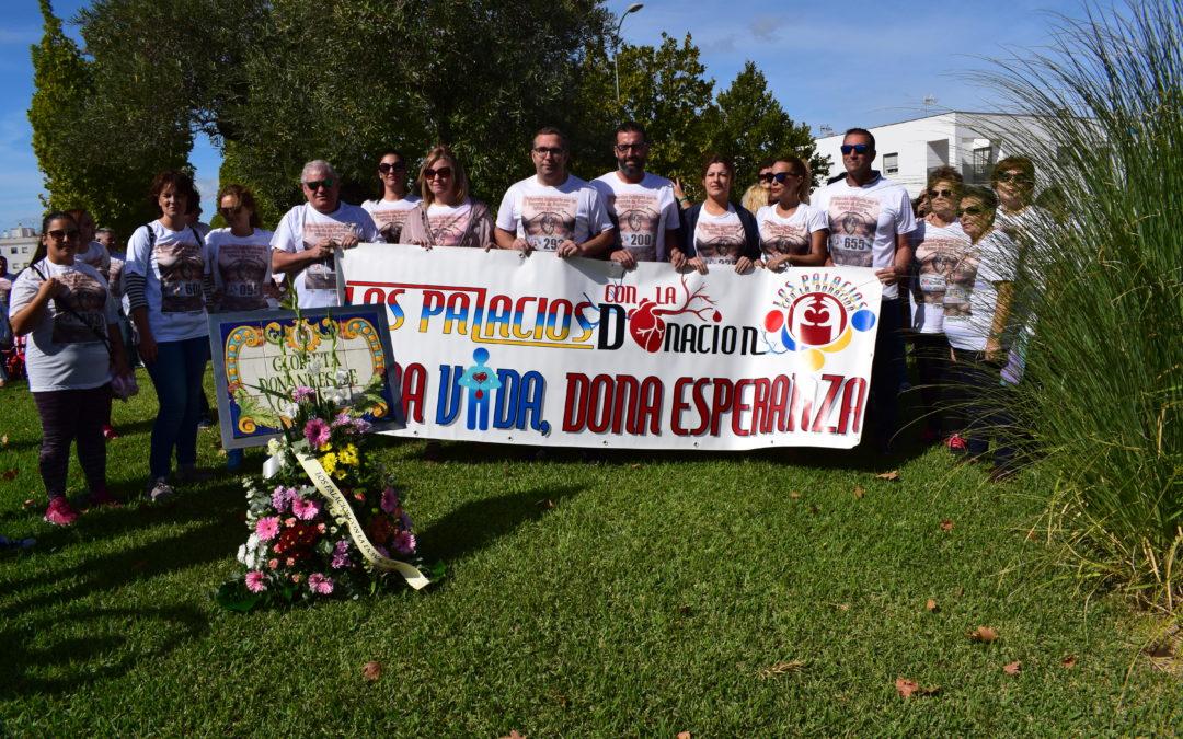 Los Palacios celebra la 3ª Marcha por la Donación
