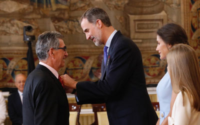 Condecoración de S.M. Felipe VI a nuestro compañero Eugenio Baison Dominguez