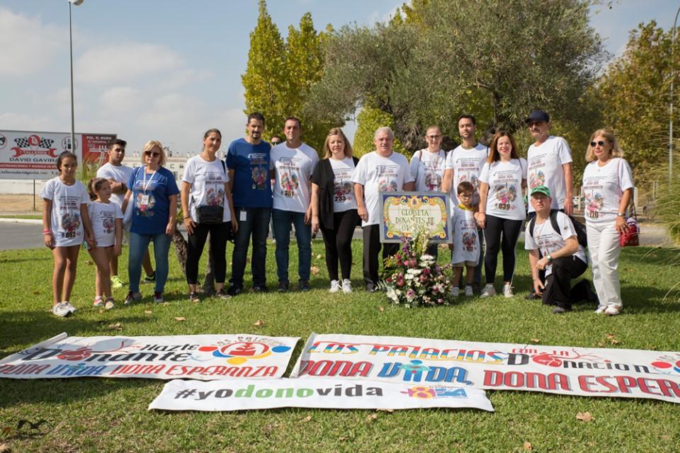 Marcha por la Donación en Los Palacios