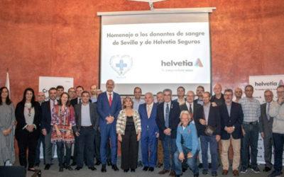 Helvetia Seguros reconoce a grandes donantes