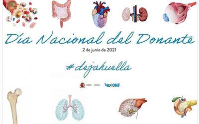 Día Nacional del Donante de órganos, tejidos y células.