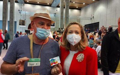 Nadia Calviño, Vicepresidenta del Gobierno apoya la donación altruista